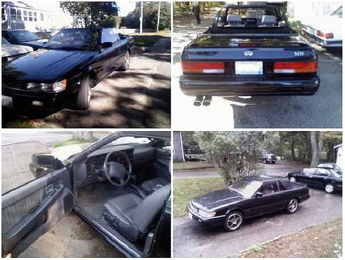 For $1,500, To Infiniti and Beyond!