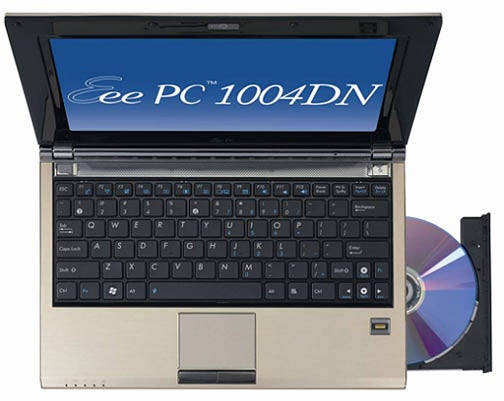 The Eee PC Gets a DVD Drive