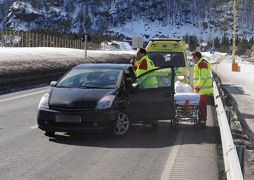 Norwegian Prius Unintentionally Accelerates To 109 MPH, Rams Guard Rail