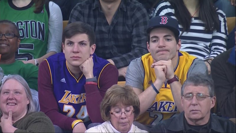 Bizarro World Laker Bros Have The Sadface