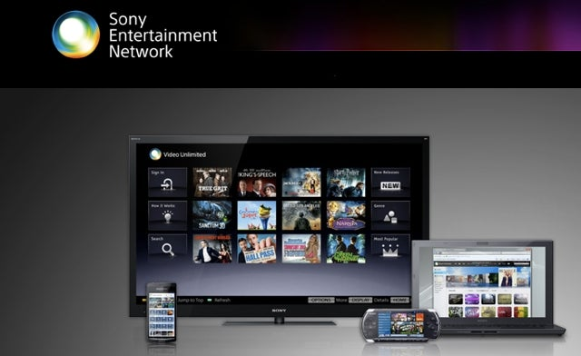 Sony Brings Sony Entertainment Network Online