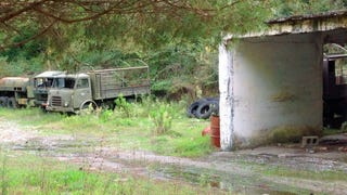 This Abandoned Soviet Sub Base Is Hiding Amazing Army Truck Barn Finds