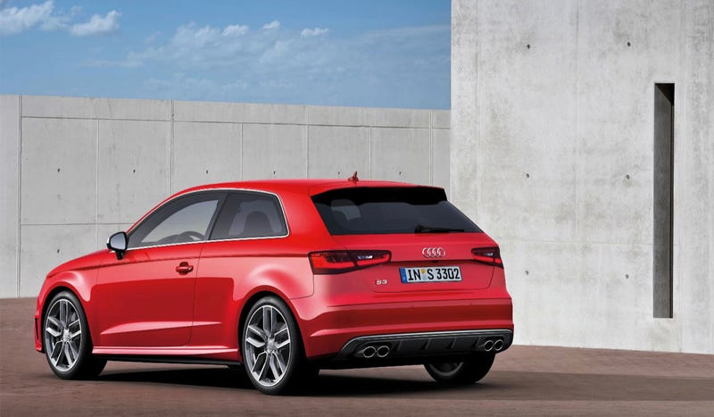 The 2013 Audi S3 Comes Straight From Hot Hatchback Heaven