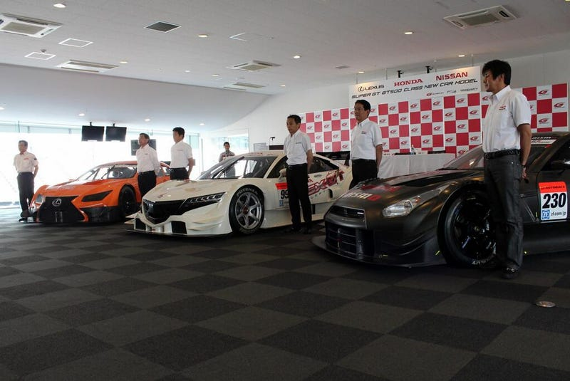 Super GT Unveils New GT500 Cars