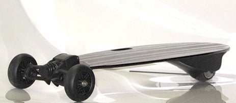 GroundSurf Electric Skateboard, Controlled by a Bluetooth Cellphone