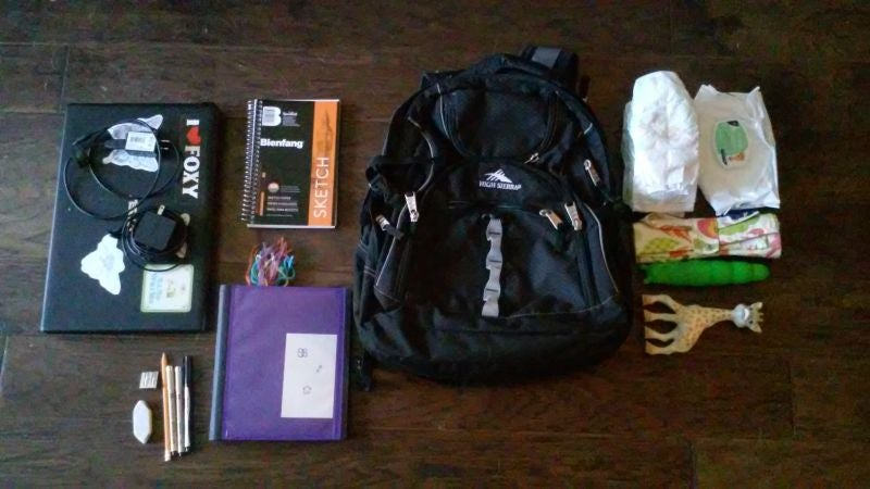 The Mom's Daily Essentials Backpack