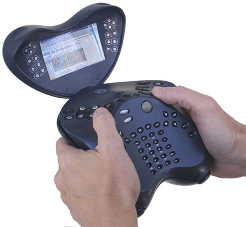 The Alphagrip Handheld PC is Ergonomically Insane
