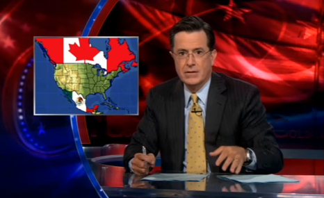 Stephen Colbert: Los Homosexuales Are Coming!