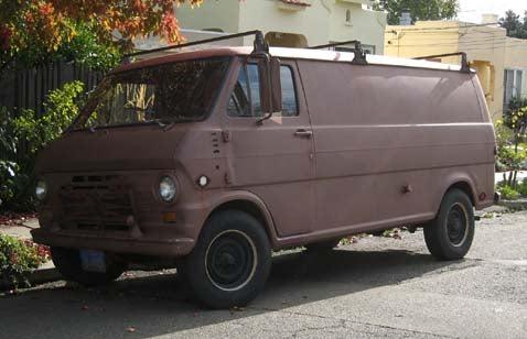 1969 Ford Econoline, With Bonus Serial Killer Poll