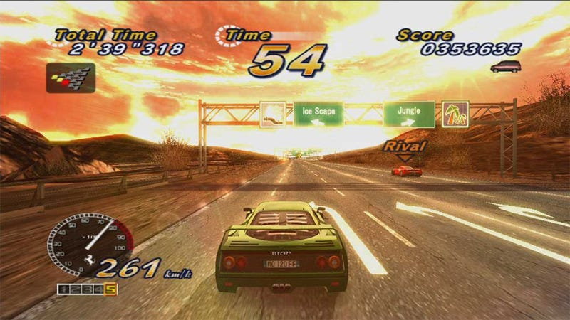 Outrun Brings Its Magical Sound Shower To XBLA, PSN