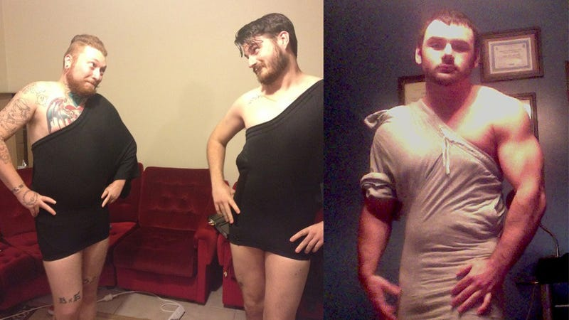 Dudes on Reddit Are Turning Gym Shorts into Sexy Dresses