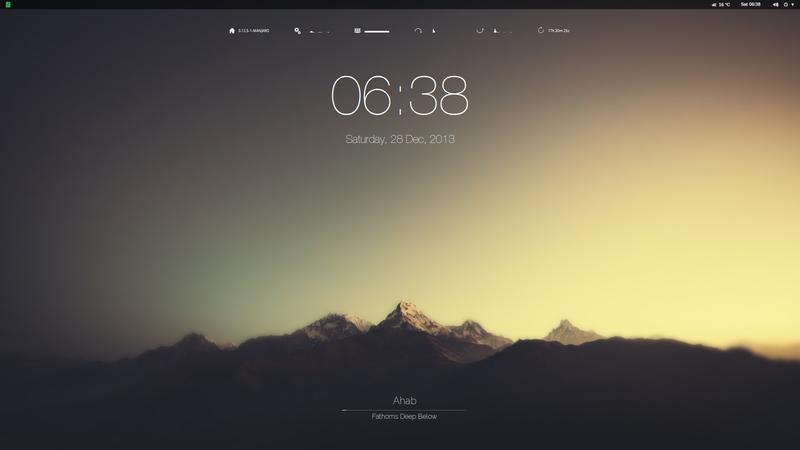 Blurry Mountains Desktop