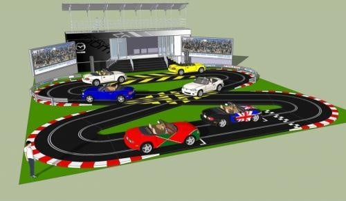 Mazda Bringing Full-Sized Slot Car Track To Goodwood
