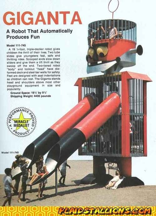 Old-school space playgrounds were awesome and/or death traps