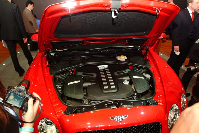 Bentley Continental V8 Live Photos