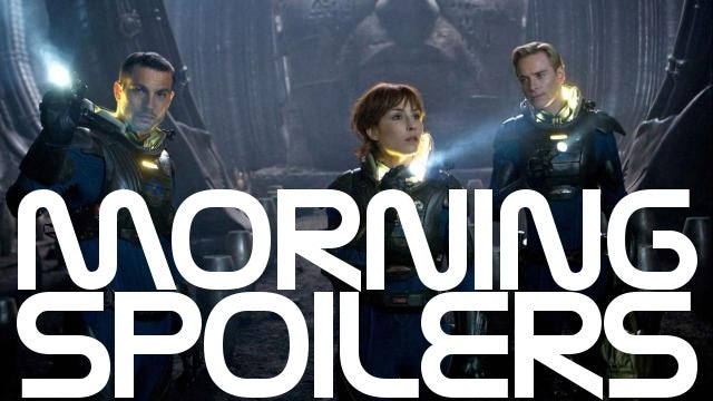 Prometheus really will be rated R. Plus Marvel reveals the road to Avengers 2!
