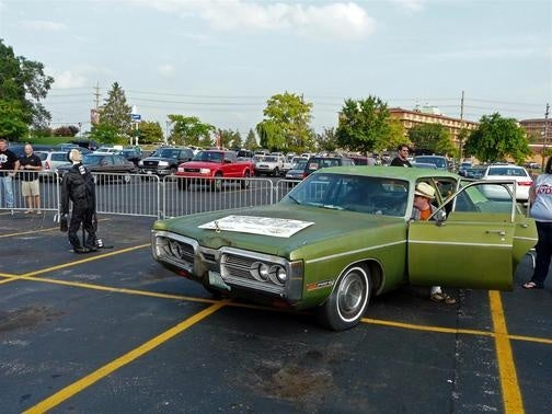 Lebowski Fest Ringer Fling, Featuring A Plymouth Fury III