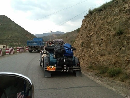 Peking-To-Paris Rally: Drive Outer Mongolia In An Antique Car