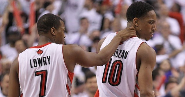 Kyle Lowry And DeMar DeRozan: We Are Trash
