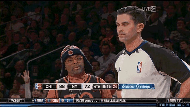 The Bulls-Knicks Game Went To Complete Shit Last Night, And Produced This Beautiful GIF Of A Dismayed Spike Lee