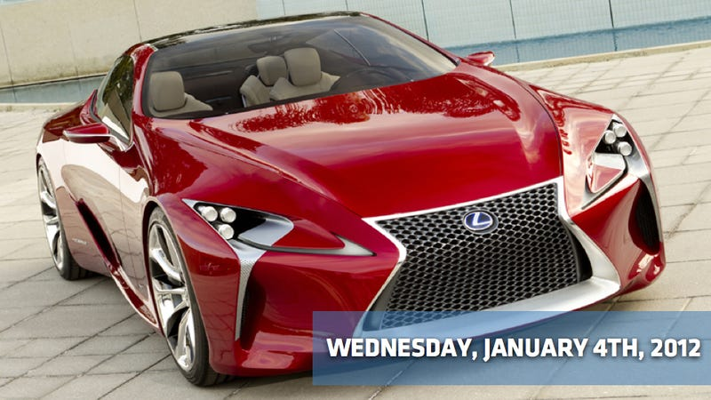 Buick's bland, a narcolepsy-inducing Nissan, and Lexus may save the Detroit Auto Show from boring
