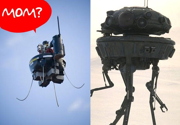 Spy Drones Coming Soon to the US, AT-ST Walkers to Follow Next