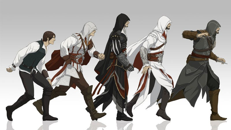 The Evolution of Assassin's Creed's Ezio Auditore da Firenze