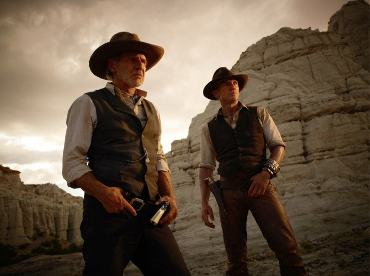 Take a closer look at Cowboys and Aliens' all-out extraterrestrial war
