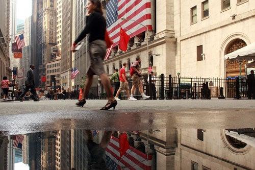 Wall Street Women On The Decline
