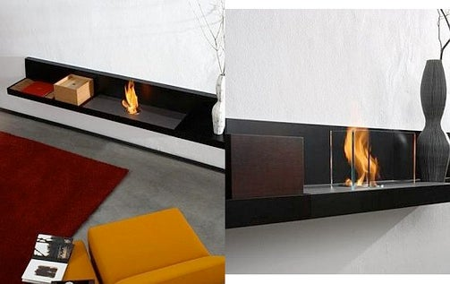 Lounge Fire Fireplace Looks Like a Bench—What Could Go Wrong?