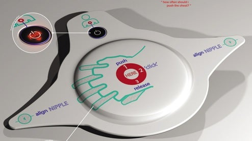 CPR Pad Makes Resuscitation as Easy as ABC