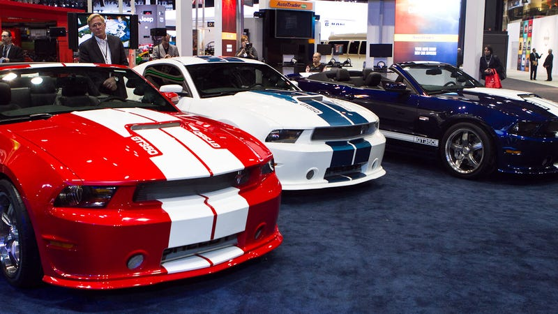 2012 Shelby GT350 is pudgy and topless
