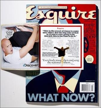 Esquire Implants Ad Under Obama's Skin
