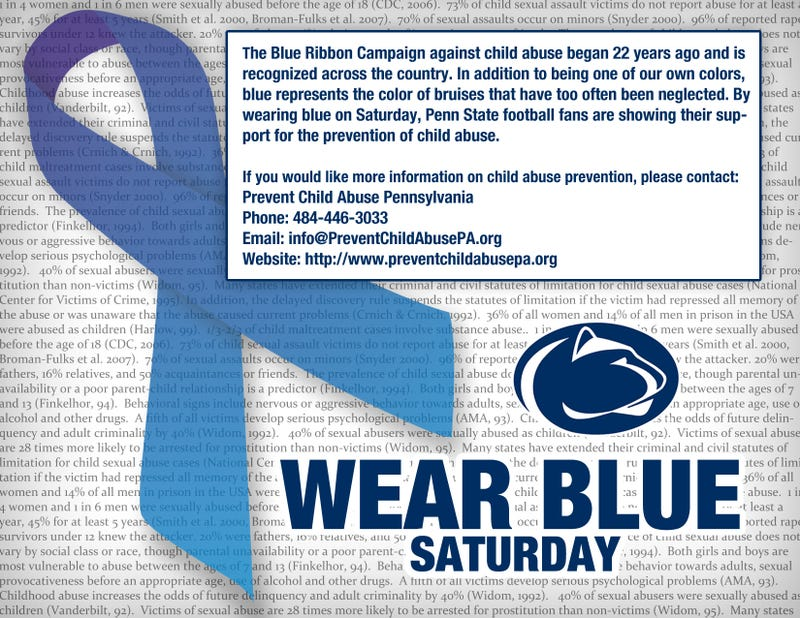 "Penn State Students Get It Right With The ""Blue Out"""