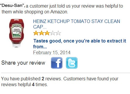 OMFG...I can't believe Amazon approved my review [Update]