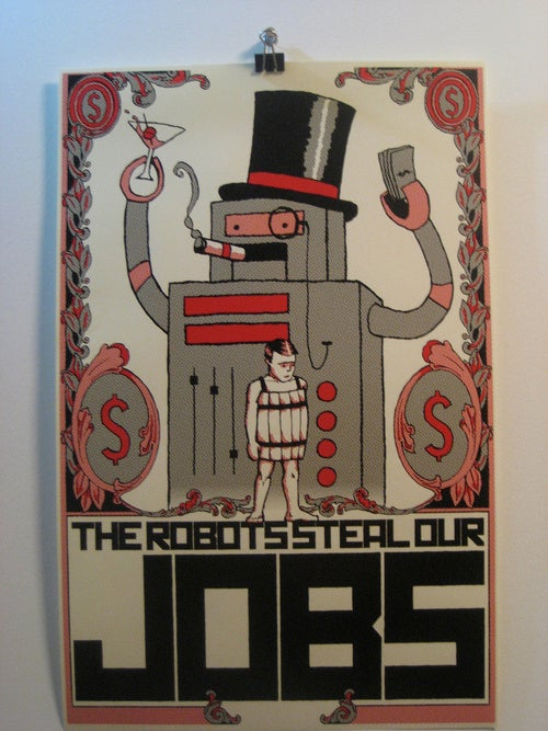 Re-Elect PresidentBot! You Know It Makes Sense.