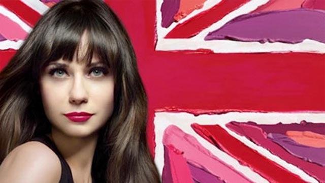 Zooey Deschanel Unveils Lipstick That Erases Wrinkles