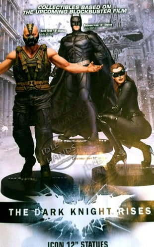 The Dark Knight Rises Toy Statues