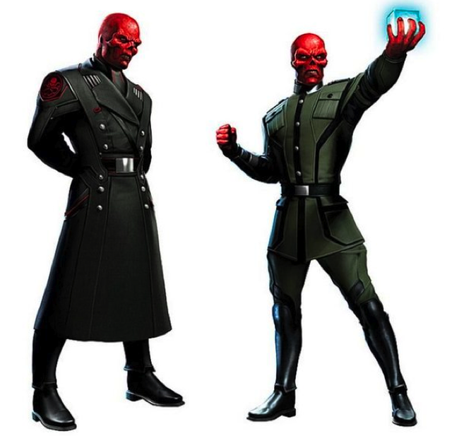 New Captain America concept art reveals the Red Skull