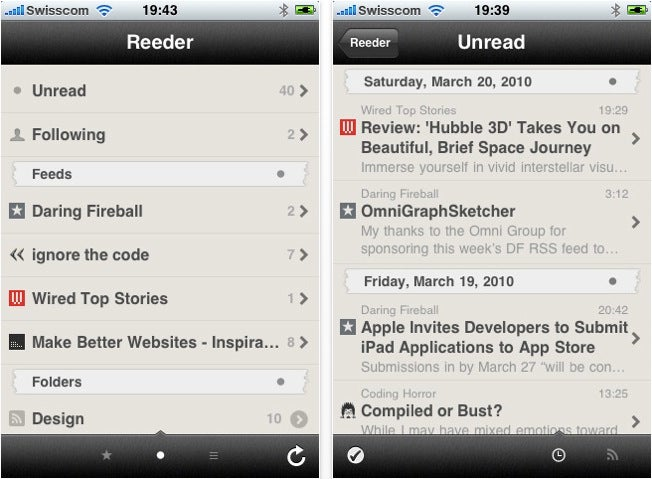 The Best RSS Reader Apps