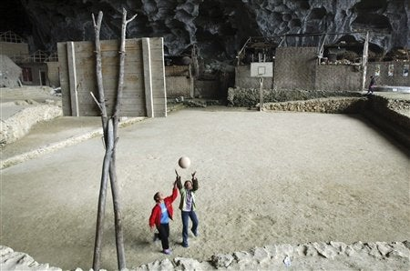 Fantastical places around the world where you can live in a cave