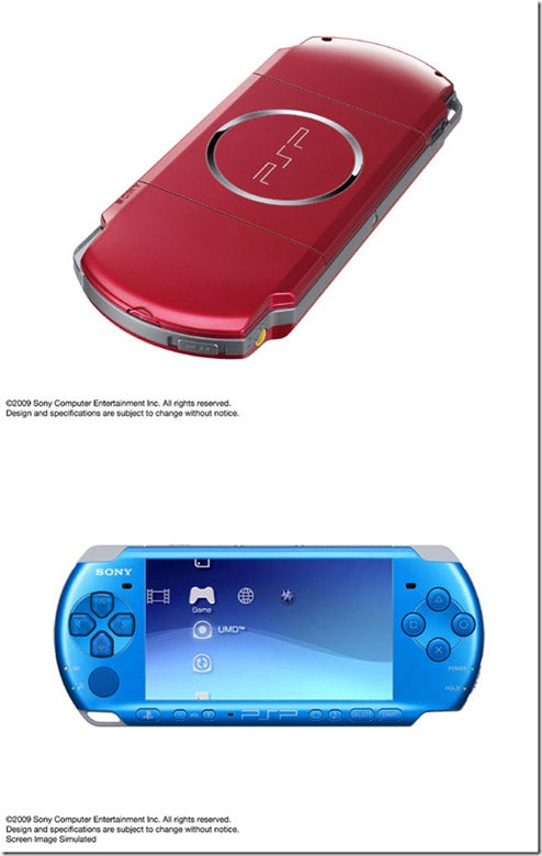 Asia Getting New PSP Colors