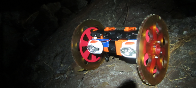 NASA Is Sending This Little Bot to Explore Inside a Volcano