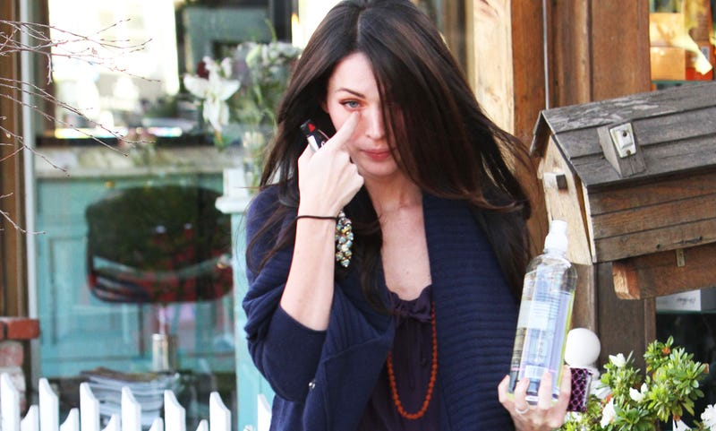 Megan Fox Sheds a Single Tear to See if It Will Sizzle