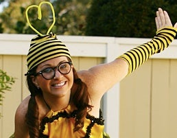 "Hiney Pumpin': ""I Was Wearing My Slutty Bumblebee Costume."""