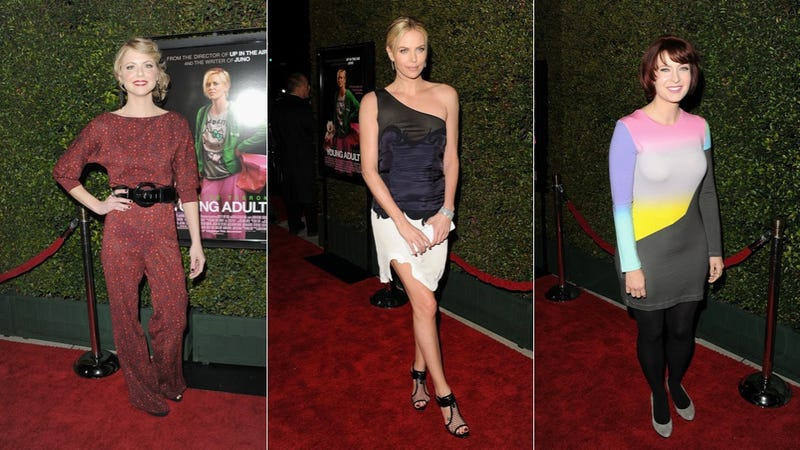 Grown-Ups In Awkward Ensembles At The Young Adult Premiere