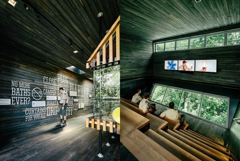The Boy Scouts' Educational Treehouse Looks Just Like an Ewok Village