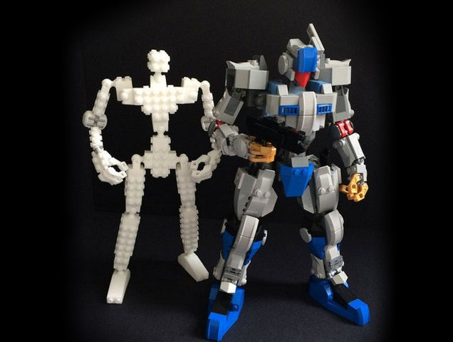 Как Построить Из Лего Робота Инструкция - фото 10