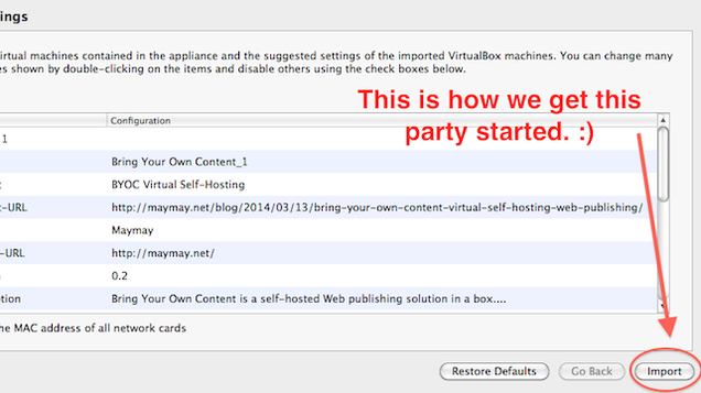 Host Your Own Blog On a Server You Control with Virtualbox