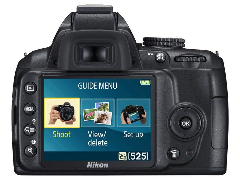 Nikon D3000: Beginner's 10MP DSLR With Educational Menus for $600